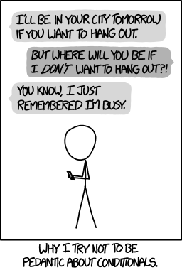 xkcd conditionals