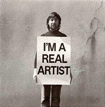 I Am A Real Artist - Keith Arnatt